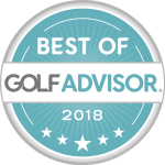 Golf Advisor Best of 2018 Badge