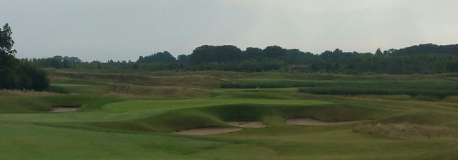 View of the course at Shepherd's Crook in the evening