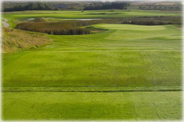 View of the fairway at Shepherd's Crook